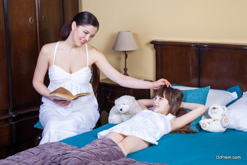 Establish a bedtime routine