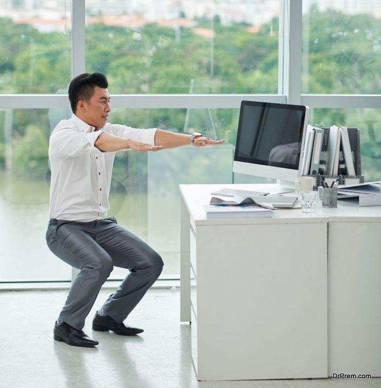performing-squats
