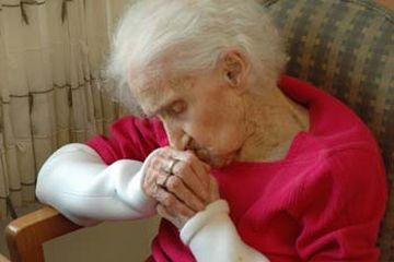 an alzheimers patient