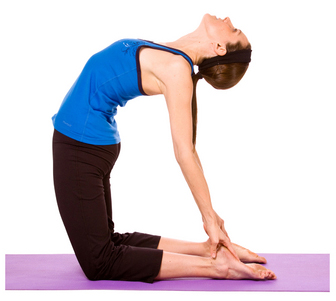 This pose is helpful in the Yoga Camel Pose