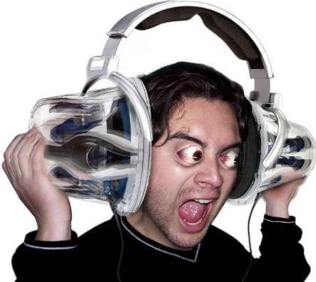 deafening music 64