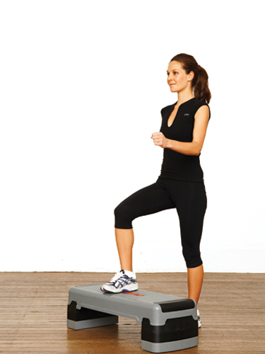 How to do step exercises at home