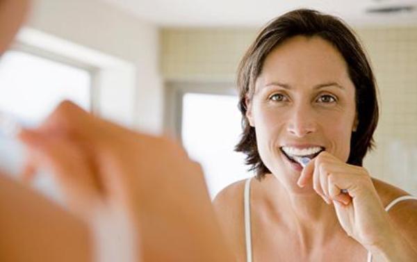 Oral hygiene reminders