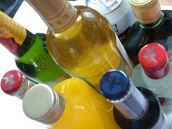 Use of alcohol, sedatives