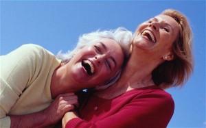 healthy older women