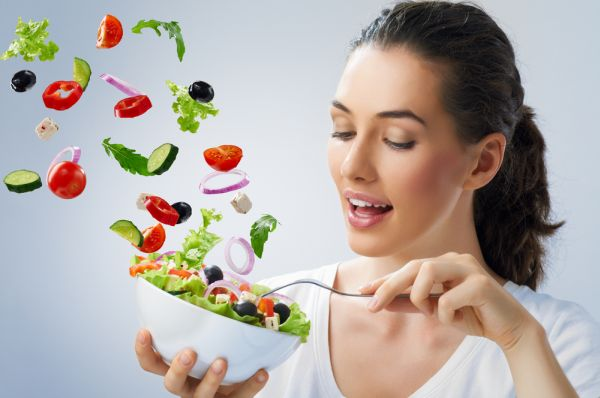 healthy-eating-habit-is-essential-for-weight-loss-fork-white-bowl