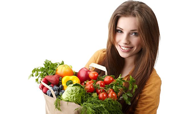 selected vegetables