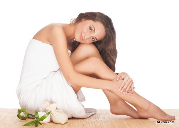 moisturized skin