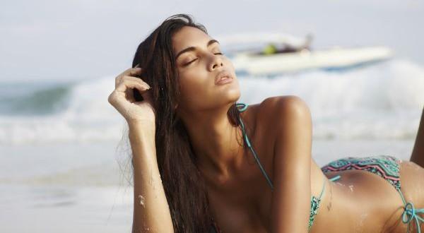 Bikini fashion on beach a