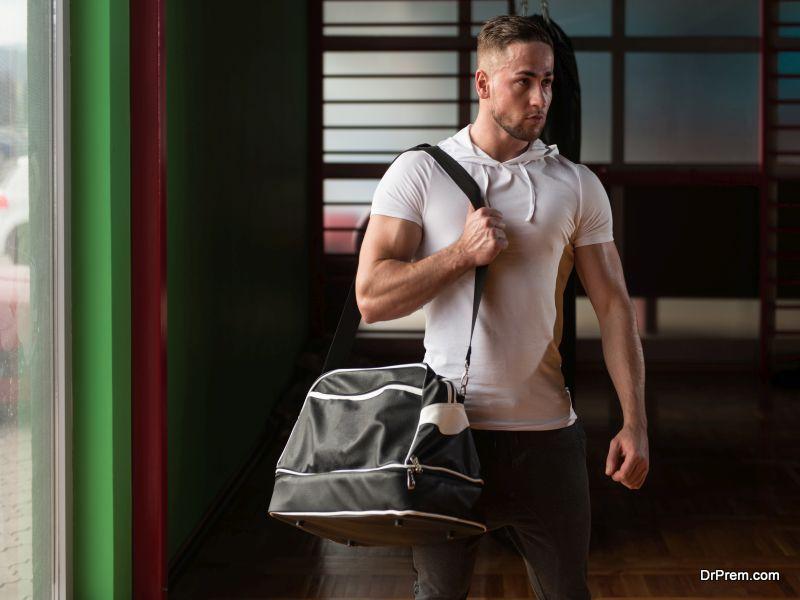 Bodybuilder's Gym Bag