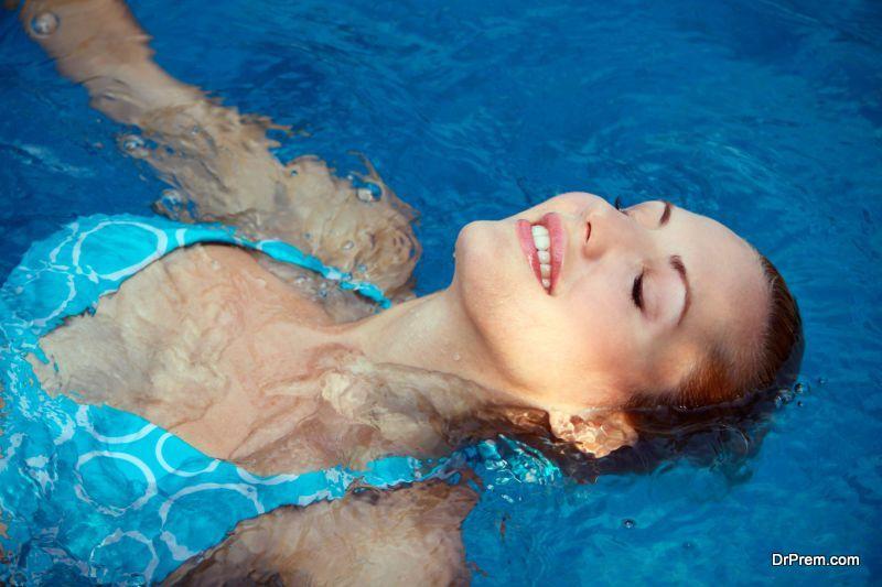 float in the water like a dead body