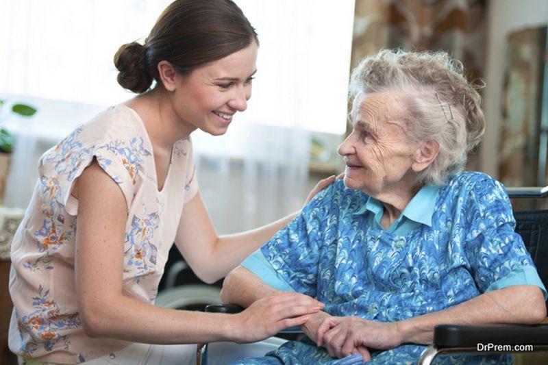elderly family member