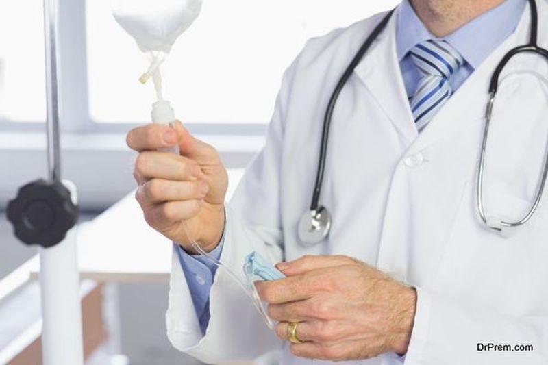 Intravenous fluidics therapy