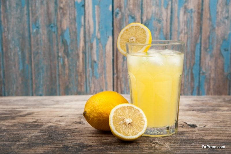 squeeze juice from ½ lemon