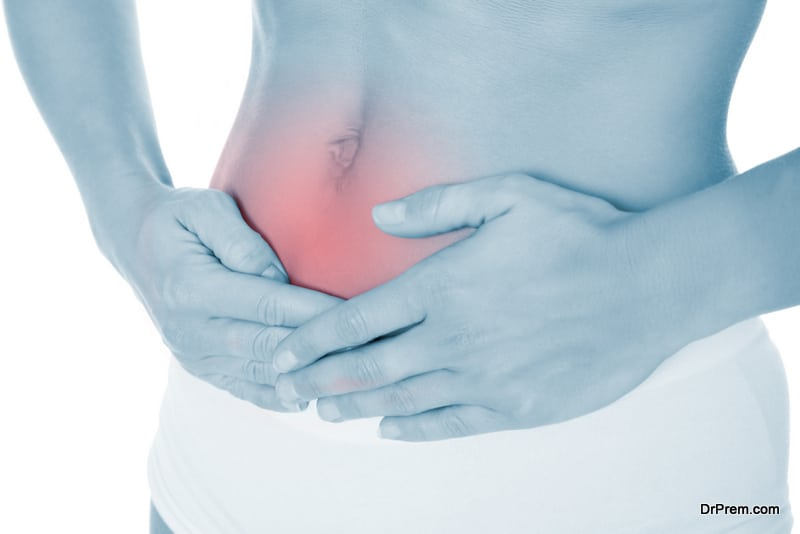 side-effect of excessive stress is stomach issues