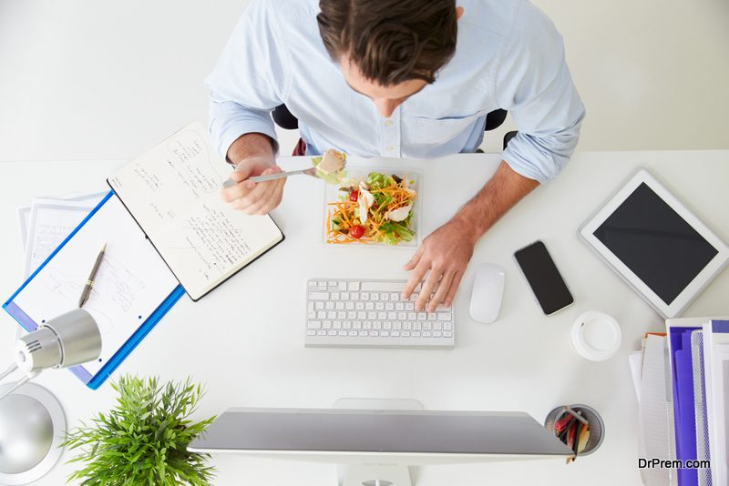 Don't have lunch at your desk