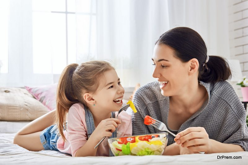 Stick to timely meal schedules