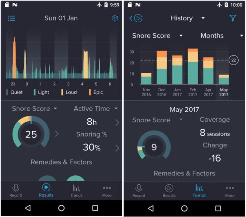 Snorelab is an app