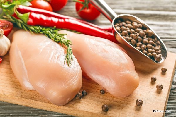 Poultry breasts