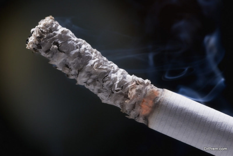 A big no to smoking