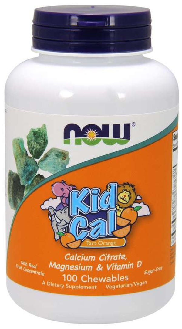 NOW Kid Cal Chewables