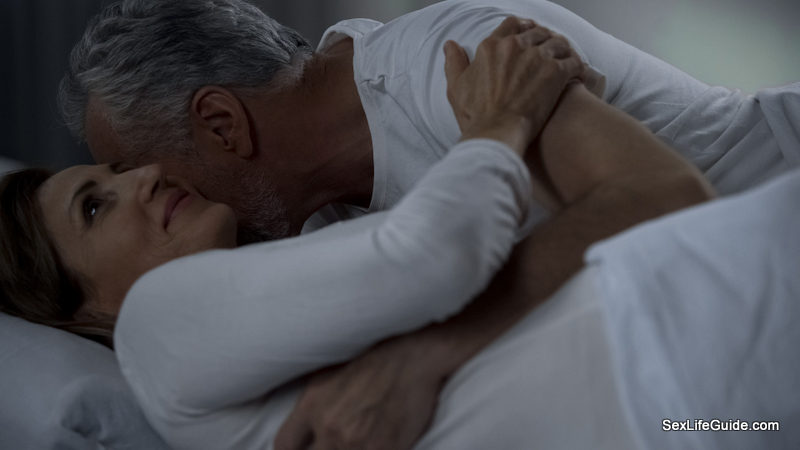older couple Foreplay