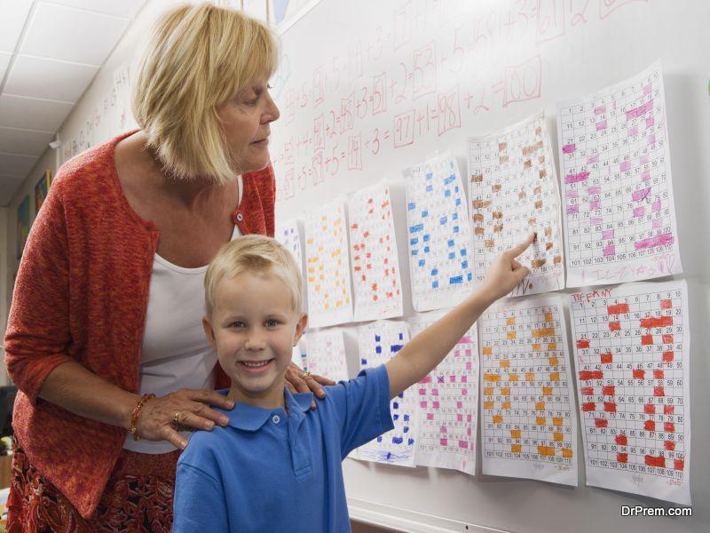 teacher and the kid