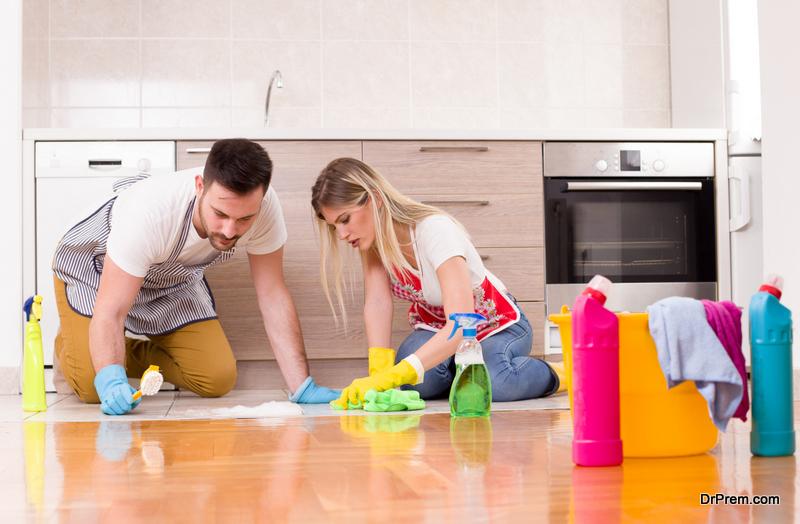 Keep a clean kitchen