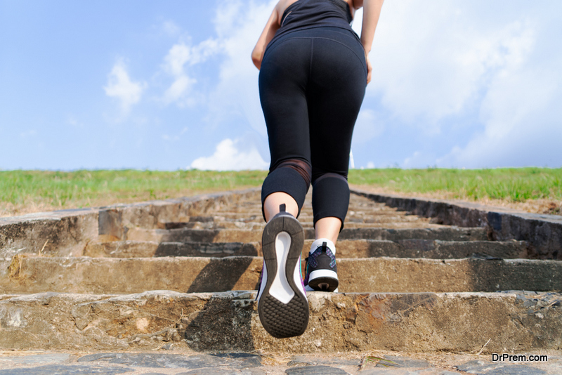 How to walk and run upstairs safely