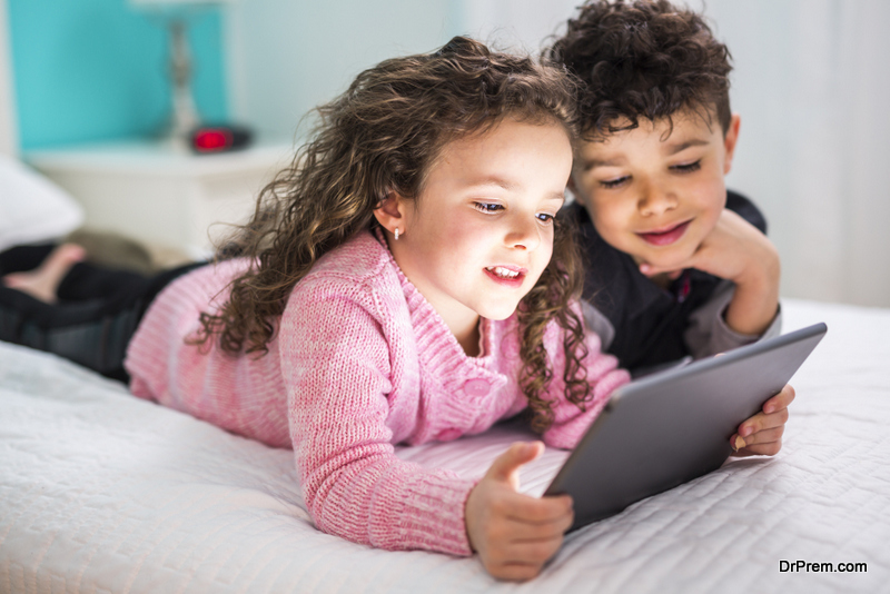 Try to peel your child away from the smartphone