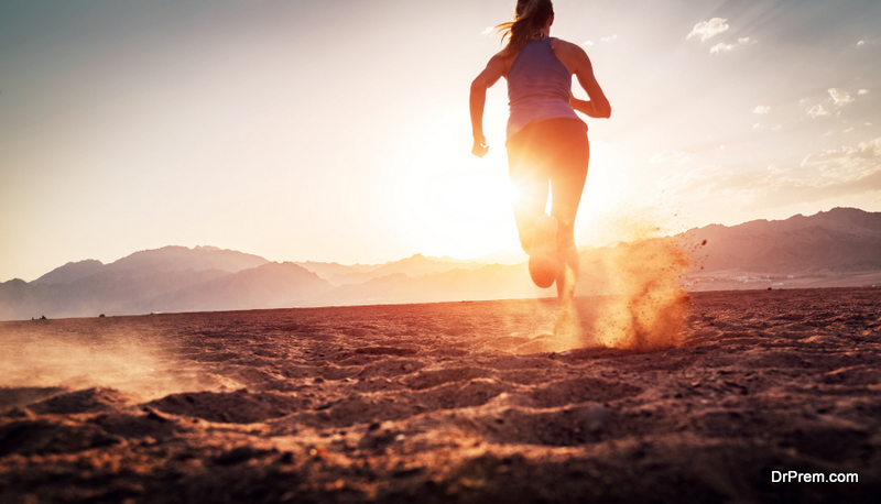 doing running as an exercise