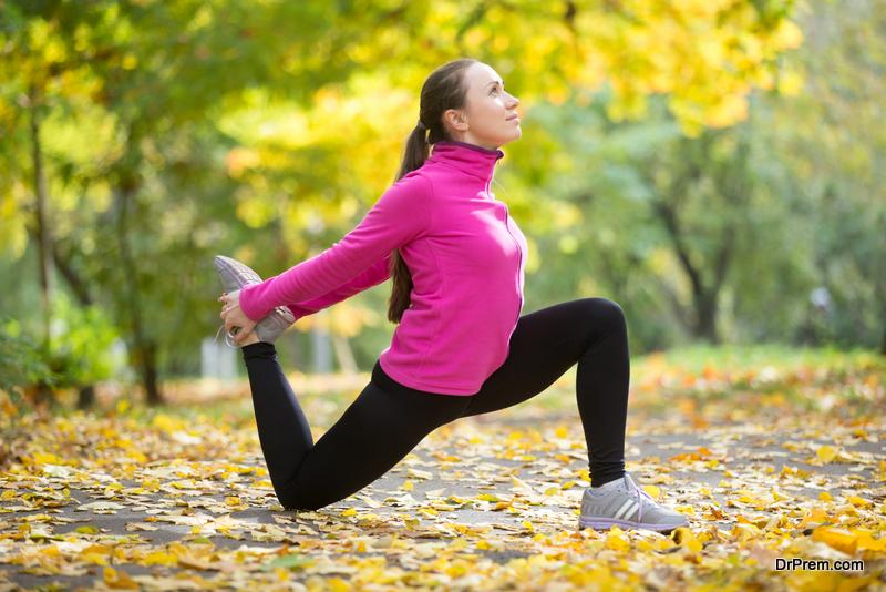 Lunge Hip Flexor Taekwondo Stretch