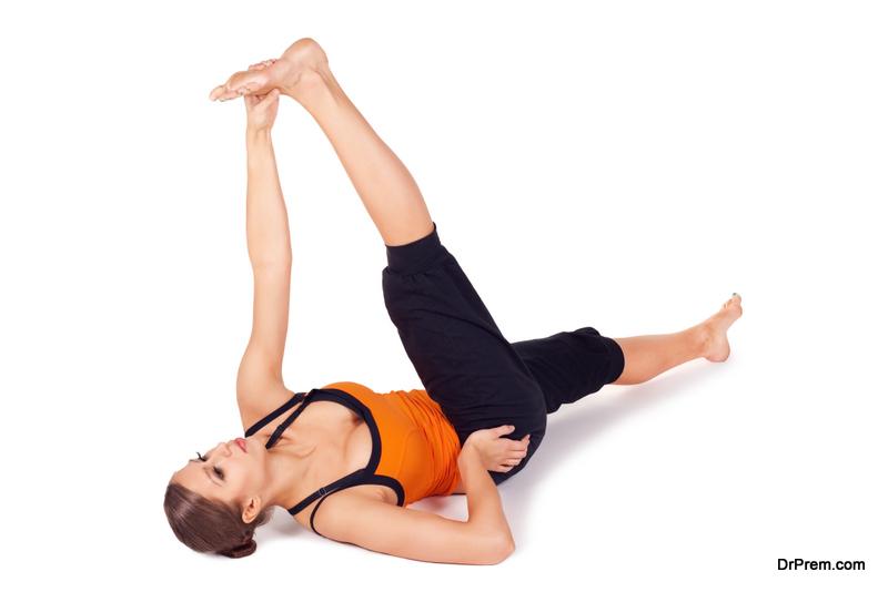 Supine Hamstring Taekwondo Stretch