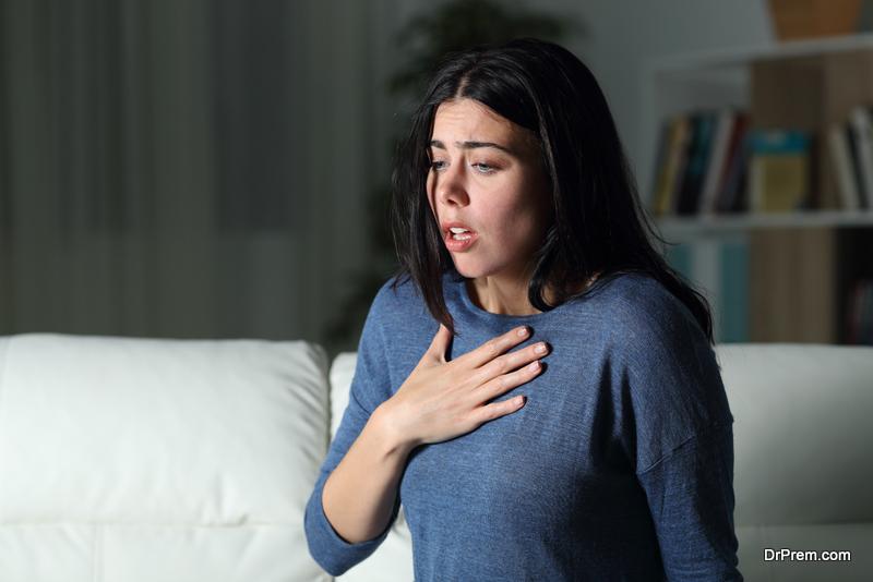 During Choking Episode