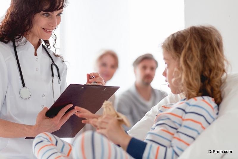 Healthcare Professionals Work in Pediatric Hospice