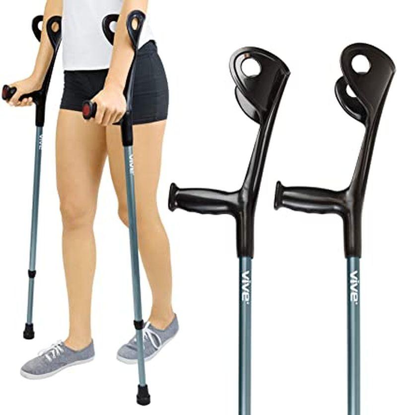 Forearm Crutches by Vive