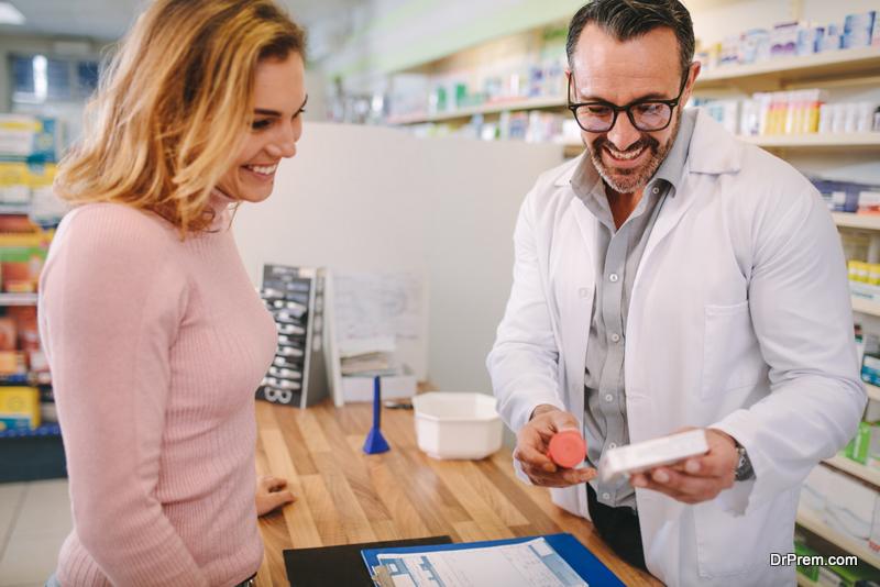 Pharmacist Refill a Prescription